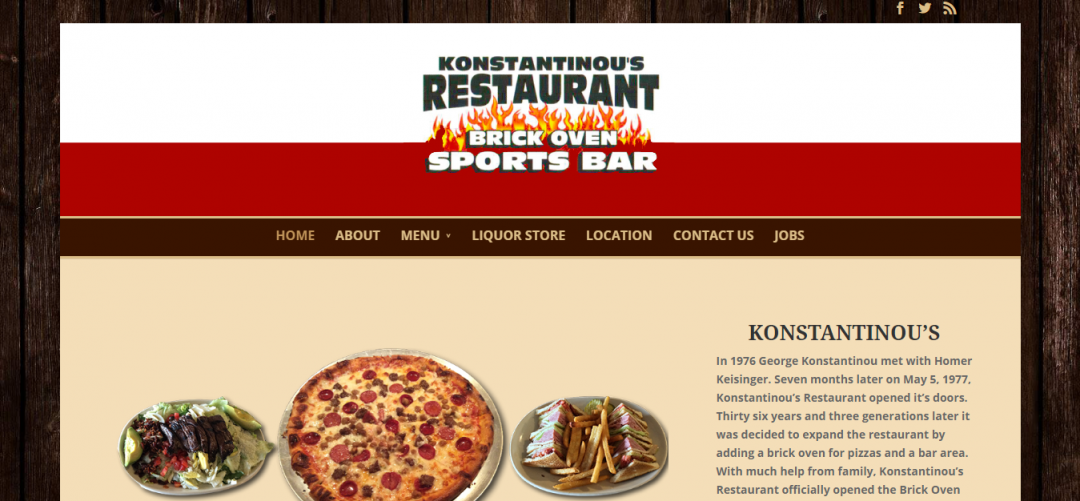Konstantinous – Brick Oven Sports Bar