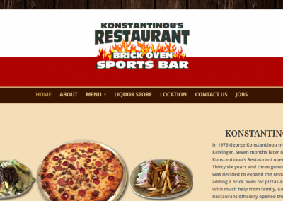 Konstantinous – Brick Oven Sports Bar